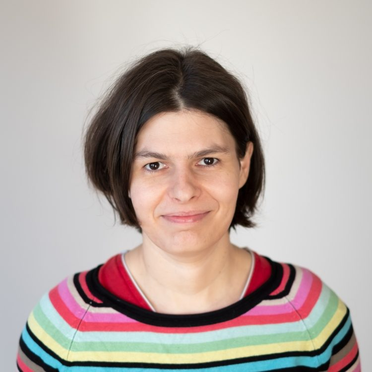Seregély Ágnes portré, Romaversitas, Budapest, Hungary, 13 January 2021.